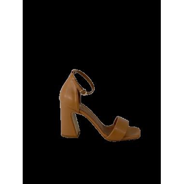 Sandalo forma quadrata cinturino in...