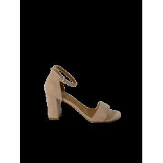 Sandalo Suede forma tonda