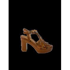Sandalo tacco zeppa
