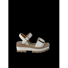 Sandalo zeppa quadrata 61250