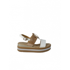 Sandalo zeppa cerchio 12290