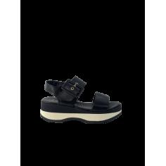 Sandalo zeppa fondo sneaker...