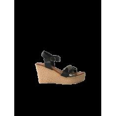 Sandalo zeppa alta 562